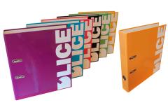 Classeurs personnalisés en différents coloris