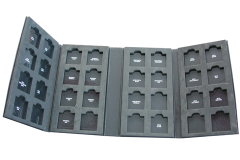 Nuancier-echantillonneur en 4 volets